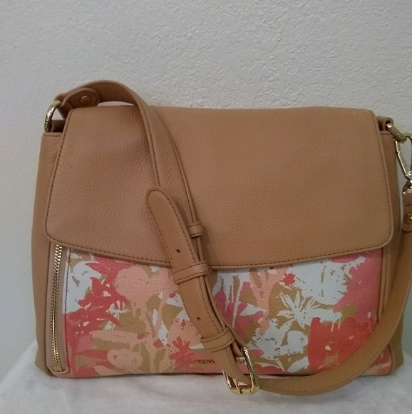 a887f1b7b8c2 Handbags - Genuine leather Vera Bradley shoulder bag floral